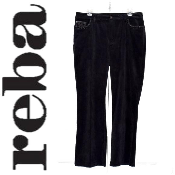 407e01626 Reba Pants | Micro Corduroy Embroidered Size 12 | Poshmark